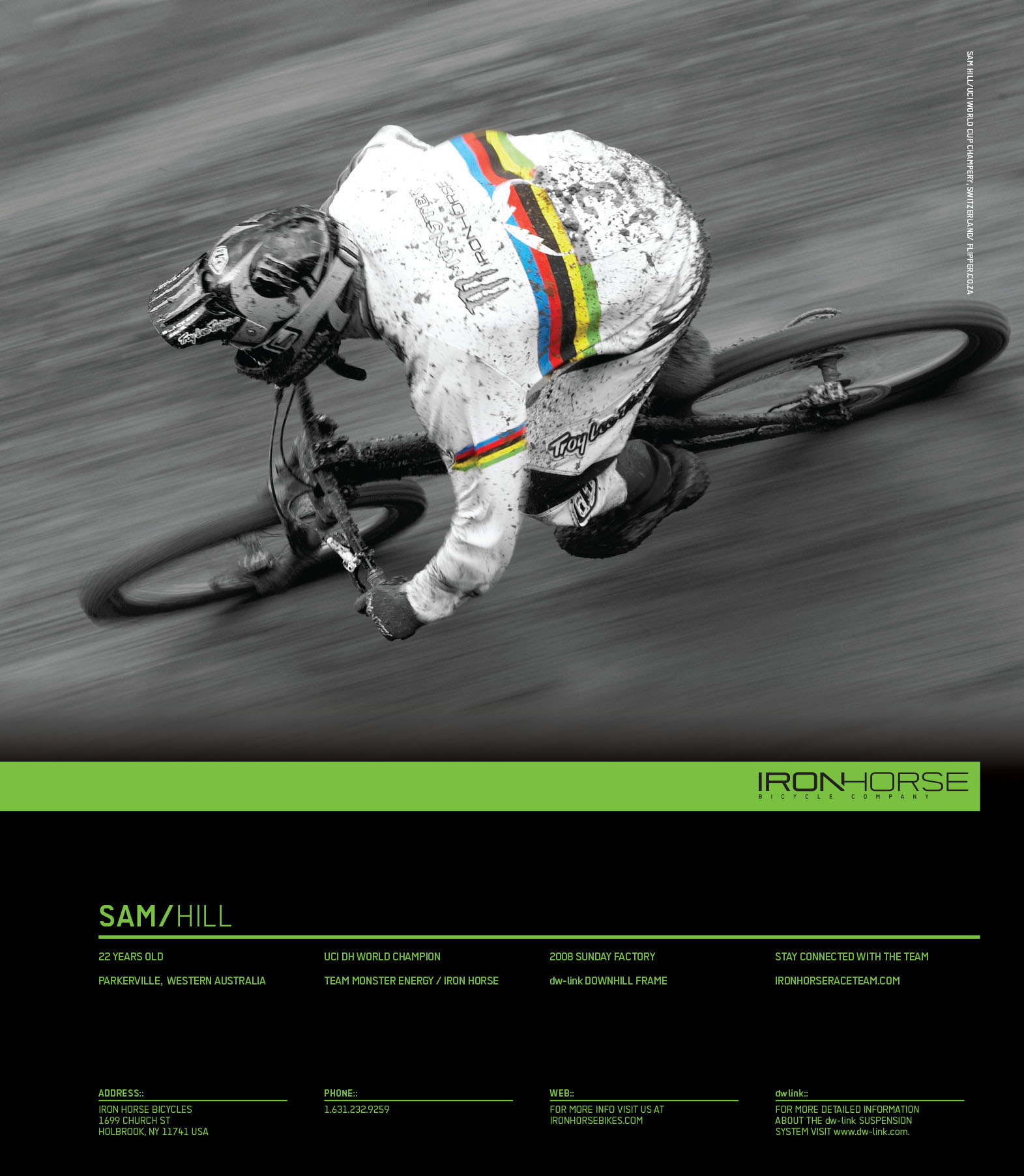 Iron Horse Sam Hill Ad