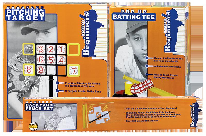 Baseball Beginners Packaging