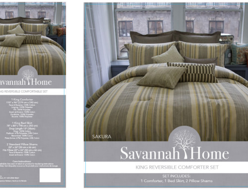 Savannah Home Bedding